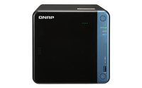 QNAP TS-453BE NAS Mini Tower Eingebauter Ethernet-Anschluss Schwarz (Schwarz)