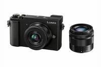 Panasonic Lumix DC-GX9WEG-K Kompaktkamera 20.3MP Live MOS 5184 x 3888Pixel Schwarz compact camera (Schwarz)