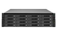 QNAP REXP-1610U-RP Rack (3U) Schwarz Disk-Array (Schwarz)