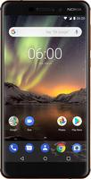 Nokia 6.1 5.5Zoll Dual SIM 4G 32GB 3000mAh Schwarz, Kupfer (Schwarz, Kupfer)