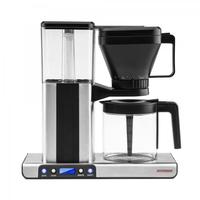 Gastroback 42706 Freistehend Filterkaffeemaschine 1.25l 10Tassen Schwarz, Edelstahl Kaffeemaschine (Schwarz, Edelstahl)