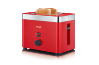 Graef TO 63 2Scheibe(n) 888W Rot Toaster (Rot)