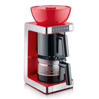 Graef FK 703 Freistehend Halbautomatisch Filterkaffeemaschine 10Tassen Rot (Rot)