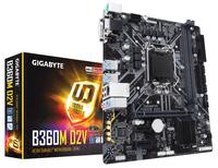 Gigabyte B360M D2V Intel B360 Express LGA 1151 (Buchse H4) Micro ATX Motherboard