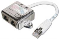 ASSMANN Electronic AT-AG CX2 Netzwerkkabel (Weiß)