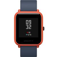 Xiaomi Amazfit Youth 1.28Zoll LED Handy Rot GPS Smartwatch (Schwarz, Rot)