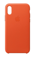 Apple MRGK2ZM/A 5.8Zoll Hauthülle Orange Handy-Schutzhülle (Orange)