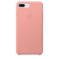 Apple iPhone 8 Plus / 7 Plus Leder Case – Zartrosa (Pink)