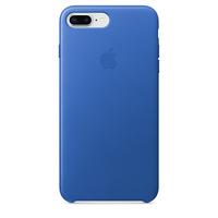 Apple iPhone 8 Plus / 7 Plus Leder Case – Electric Blau (Blau)