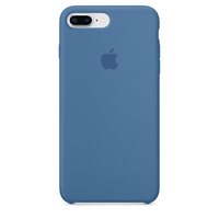 Apple iPhone 8 Plus / 7 Plus Silikon Case – Denimblau (Blau)