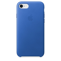 Apple iPhone 8 / 7 Leder Case – Electric Blau (Blau)