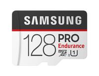 Samsung MB-MJ128G 128GB MicroSDXC UHS-I Klasse 10 Speicherkarte (Schwarz, Weiß)
