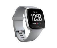 Fitbit Versa LCD Silber Smartwatch (Grau, Silber)