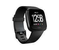 Fitbit Versa LCD Schwarz Smartwatch (Schwarz, Schwarz)