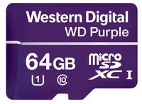 Western Digital Purple 64GB MicroSDXC Klasse 10 Speicherkarte (Violett)