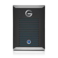 G-Technology mobile Pro 500GB Schwarz, Silber (Schwarz, Silber)