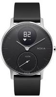 Nokia Steel HR Wristband activity tracker Kabellos Schwarz, Edelstahl (Schwarz, Edelstahl)