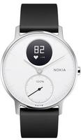 Nokia Steel HR Wristband activity tracker Kabellos Schwarz, Edelstahl, Weiß (Schwarz, Edelstahl, Weiß)