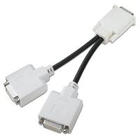 HP DL139A Audio-/Videokabel (Schwarz, Weiß)