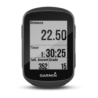 Garmin Edge 130 1.8Zoll Wireless bicycle computer Schwarz (Schwarz)