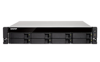 QNAP TS-832XU NAS Rack (2U) Eingebauter Ethernet-Anschluss Schwarz (Schwarz)