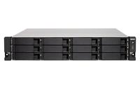 QNAP TS-1232XU-RP NAS Rack (2U) Eingebauter Ethernet-Anschluss Schwarz (Schwarz)
