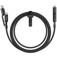 Nomad NM0B9BC000 1.5m USB C/USB A USB C/Micro USB Schwarz Handykabel (Schwarz)