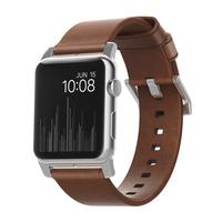 Nomad NM1A4RSM00 Band Braun Leder Smartwatch-Zubehör (Braun)