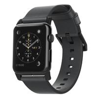 Nomad NM1A42BM00 Band Schwarz Leder Smartwatch-Zubehör (Schwarz)
