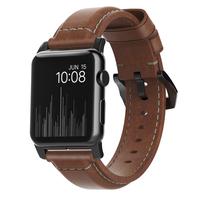 Nomad NM1A4RBT00 Band Braun Leder Smartwatch-Zubehör (Braun)