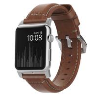 Nomad NM1A4RST00 Band Braun Leder Smartwatch-Zubehör (Braun)