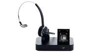 Jabra Pro 9470 Monophon Kopfband Schwarz Headset (Schwarz)