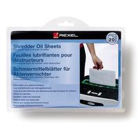 Rexel Shredder Oil Sheets (20) (Mehrfarbig)