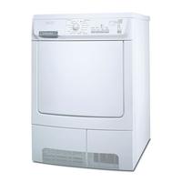 Electrolux EDC 77550 W Freistehend Frontlader 7kg B Weiß (Weiß)