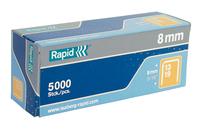 Rapid 11835600 Heftklammer Klammerpack 5000 Heftklammern (Silber)