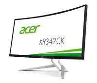 Acer XR2 XR342CKPbmiiqphuzx 34Zoll LED Gebogen Schwarz, Silber Computerbildschirm (Schwarz, Silber)