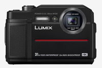 Panasonic Lumix DC-FT7 Kompaktkamera 20.4MP 1/2.3Zoll MOS 5184 x 3888Pixel Schwarz (Schwarz)