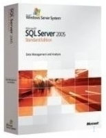 Microsoft SQL Server 2005 Standard Edition, Win32 English Lic/SA Pack OLP NL