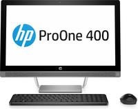HP ProOne 440 G3 All-in-One-PC mit 23,8 Zoll Diagonale, ohne Touch-Funktion (Schwarz, Silber)