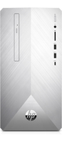 HP Pavilion 595-p0523ng 2.8GHz i5-8400 Mini Tower Intel® Core™ i5 der achten Generation Silber PC (Silber)