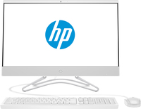 HP 24 -f0058ng 2.2GHz i3-8130U Intel® Core™ i3 der achten Generation 23.8Zoll 1920 x 1080Pixel Weiß All-in-One-PC (Weiß)