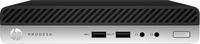 HP ProDesk 400 G4 2.1GHz i5-8500T Mini PC Intel® Core™ i5 der achten Generation Schwarz, Silber Mini-PC (Schwarz, Silber)