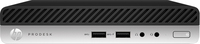 HP ProDesk 400 G4 3.10GHz i3-8100T Mini PC Intel® Core™ i3 der achten Generation Schwarz, Silber Mini-PC (Schwarz, Silber)