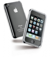 Cellular Line Invisible Case IPhone 4G (Silber)