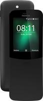 Nokia 8110 4G 2.45Zoll Dual SIM 4G 0.5GB 4GB 1500mAh Schwarz (Schwarz)