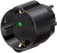 Brennenstuhl Travel Adapter (Schwarz)