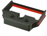 Epson ERC02IIBR Farbbandkassette für M-210/211/215-Mechanismen, Schwarz/Rot (Schwarz, Rot)