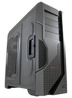 LC-Power Gaming 978BG - Tank-Buster Tower Schwarz, Grau Computer-Gehäuse (Schwarz, Grau)