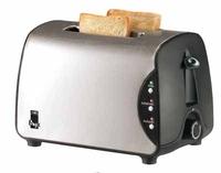 Unold Toaster Onyx (Schwarz, Edelstahl)