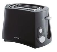 Cloer 3310 Toaster (Schwarz)
